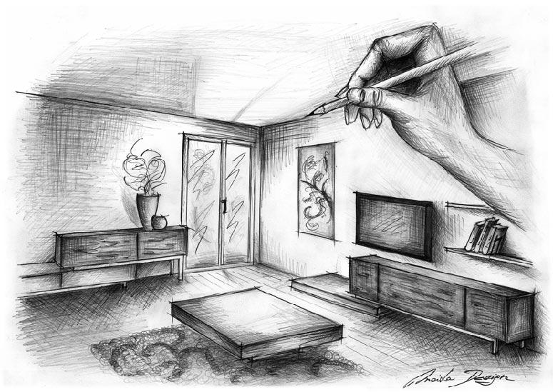 Umelecka Kresba Pre Interierovych Dizajnerov Kreativne Kurzy